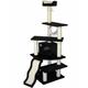 Go Pet Club 70 inch F72 Black Cat Tree with Ramp