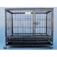 Go Pet Heavy-Duty Metal Dog Crate 43x30x38