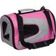 Pet Life Pink Zippered Sporty Mesh Pet Carrier LG