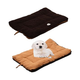 Eco-Paw Reversible Brown and Cocoa Pet Bed LG
