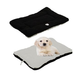 Eco-Paw Reversible Black and White Pet Bed LG