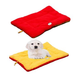 Eco-Paw Reversible Orange and Red Pet Bed LG
