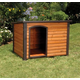 Extreme Outback Log Cabin Dog House 45.5x48.5x40
