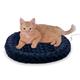 KH Mfg Heated Fashion Splash Blue Cat Bed