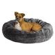 Quiet Time Deluxe Bagel Dog Bed Sage