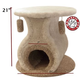 Majestic 21 Inch Kitty Cat Hacienda Cat House