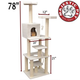 Majestic 78 Inch Bungalow Cat Furniture Tree
