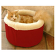 Majestic Cat Cuddler Pet Bed Medium Khaki