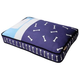 PLAY Tuck Me In Blue Rectangle Dog Bed Medium