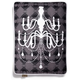 PLAY Chandelier Black Rectangle Bed Medium