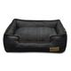 PLAY Denim Lounge Brown Dog Bed X-Large