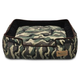 PLAY Camouflage Green Lounge Dog Bed X-Large