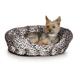 KH Mfg Warming Nuzzle Nest Black Pet Bed