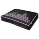 PLAY Sfyline Black/Rose Rectangle Dog Bed Medium