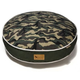 PLAY Camouflage Green Round Dog Bed Large
