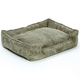 Jax and Bones Olive Corduroy Lounge Dog Bed XLarge