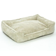 Jax and Bones Sand Corduroy Lounge Dog Bed XLarge