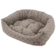 Jax and Bones Peanut Butter Napper Dog Bed XLarge