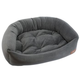 Jax and Bones Velour Slate Dog Bed XLarge