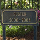 Cast Aluminum Pet Memorial Marker