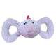 Jolly Pets Tug-a-Mals Dog Toy Large Cow