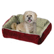 Quiet Time Boutique Reversible Bolster Dog Bed