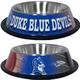 NCAA Duke University Stainless Steel Dog Bowl