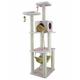 Armarkat Deluxe Cat Tree Model B7301 73in Ivory