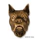 Boxer Dog Head Door Knocker