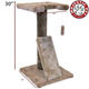 Majestic 30 Inch Cat Scratching Post with Perch