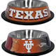 NCAA Texas Longhorns Stainless Steel Dog Bowl
