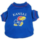 NCAA Kansas Jayhawks Dog Tee Shirt Large