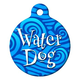 Water Dog Pet ID Tag Large