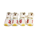 Pet Life White and Red Spring Mesh Dog Shoes LG
