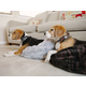 PLAY Snuggle Pet Bed Truffle Brown Large