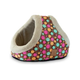 Mod Chic Double Hide and Seek Pet Bed Fuschia