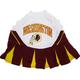 Washington Redskins Cheerleader Dog Dress Medium