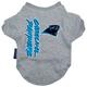 Carolina Panthers Dog Tee Shirt X-Large