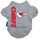 Kansas City Chiefs Dog Tee Shirt X-Large