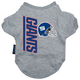 New York Giants Dog Tee Shirt X-Large
