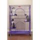 ProSelect Foldable Cat Cage Purple