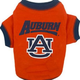 NCAA Auburn Tigers Dog Tee Shirt Large