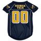 NCAA Georgia Tech Dog Jersey X-Large
