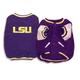 NCAA LSU Tigers Dog Jacket X-Large