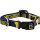 NCAA Michigan Wolverines Dog Collar Large