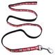 NCAA Nebraska Huskers Black and Red Dog Leash