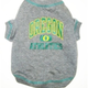 NCAA University of Oregon Dog Tee Shirt Large