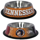 NCAA Tennessee Volunteers Stainless Dog Bowl