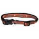 NCAA Texas Longhorns Black Trim Dog Collar Large