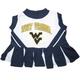 NCAA West Virginia Cheerleader Dog Dress Medium